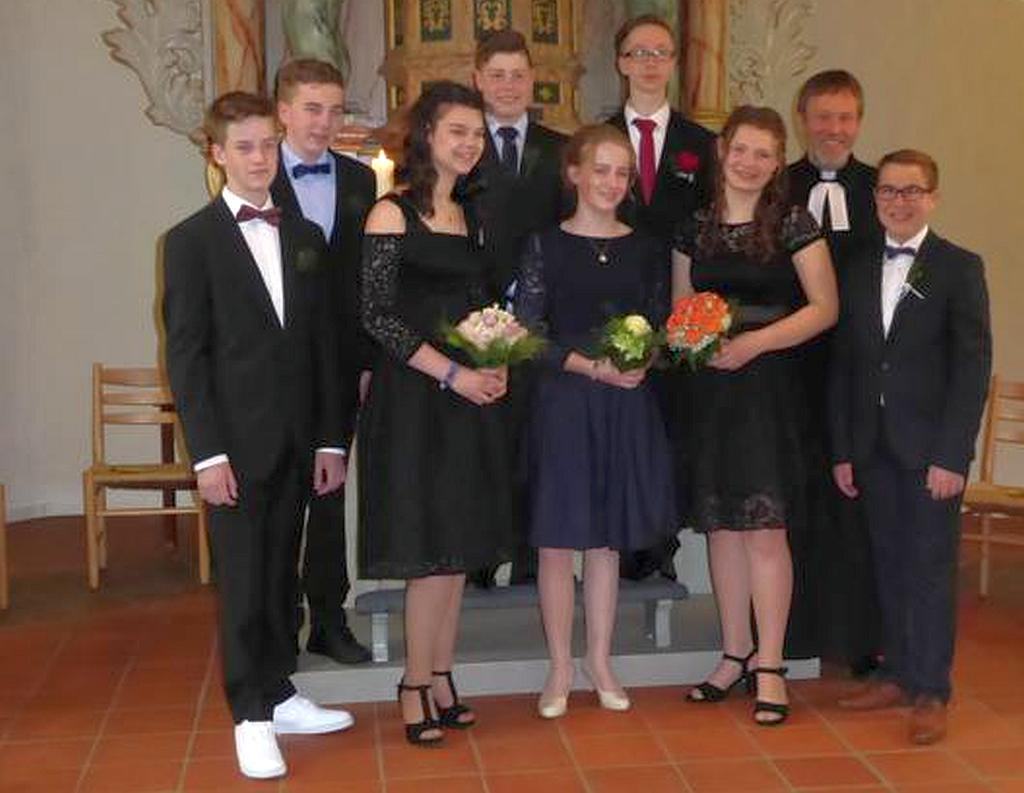 Konfirmation in Badenhausen am 19. Mai